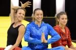 Daria , Evgenija und Alexandra