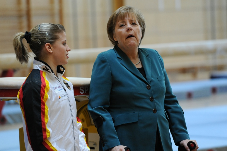 08.04.2011 - Turn - EM Berlin 2011 , Mehrkampf Herren ,