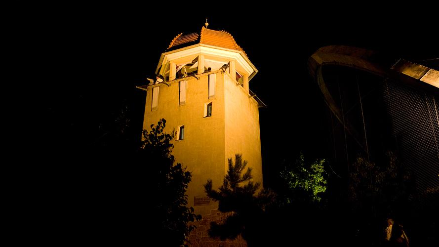 Turm des Bergzoo Halle