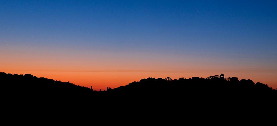 Sonnenaufgang-Bergzoo