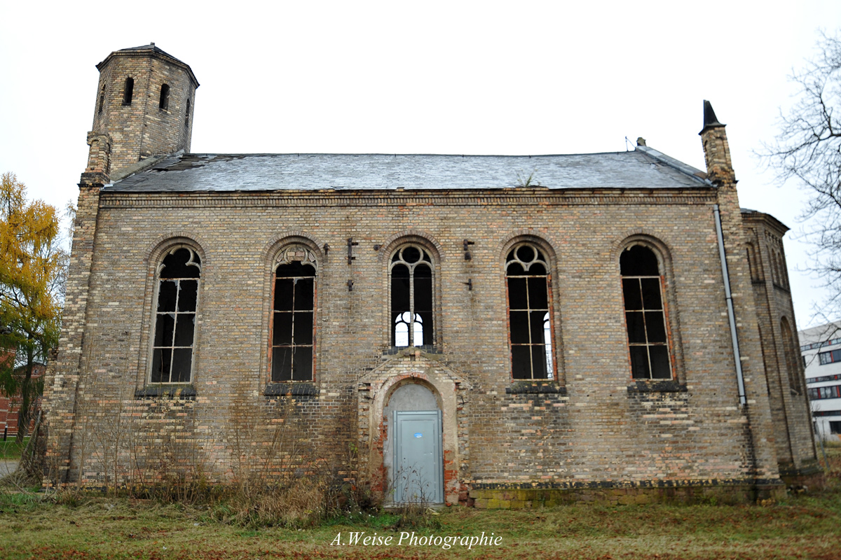 ehem. Kirche der Irrenanstalt Nietleben
