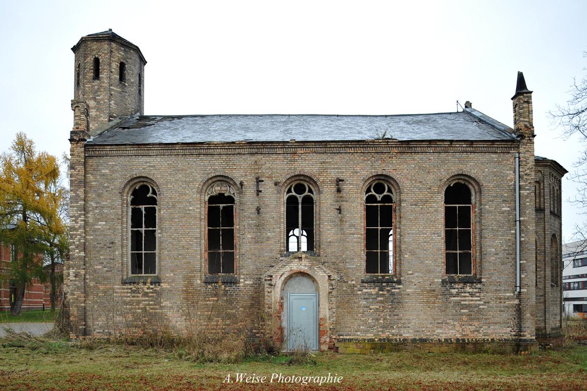 Kirche der Irrenanstalt Nietleben