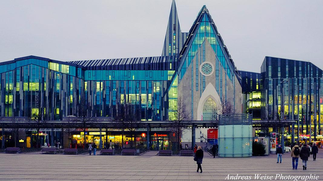 Unikirche St.Pauli , Augustusplatz
