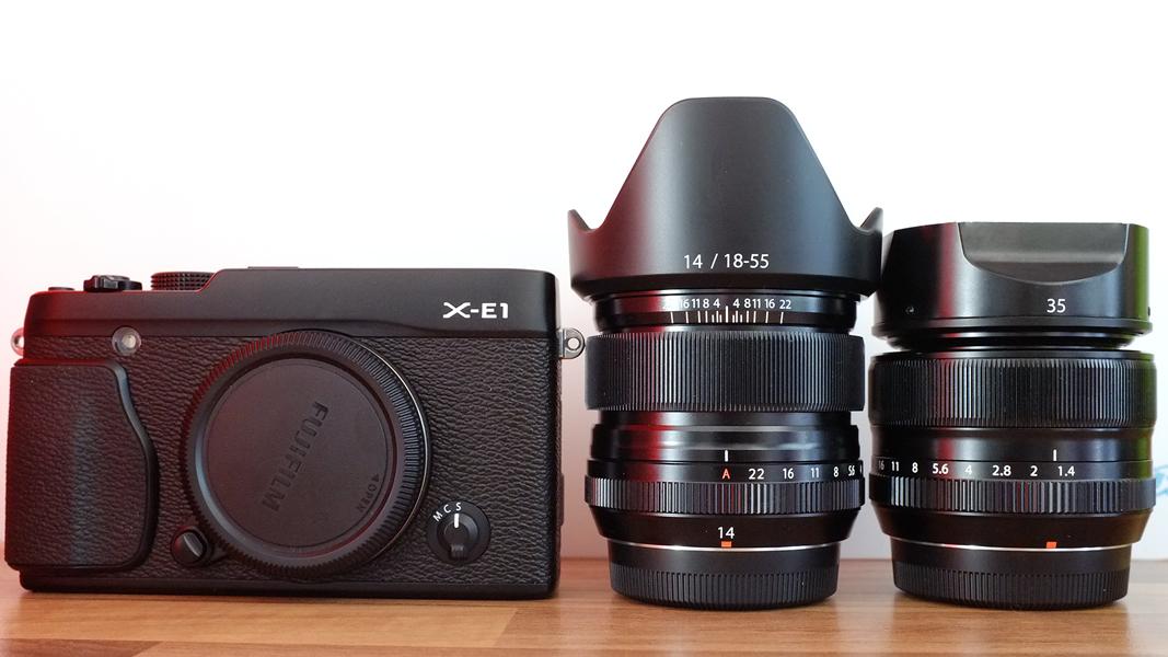 Foto , Fuji XE 1 , XF 14/2.8 , XF 35/1.4