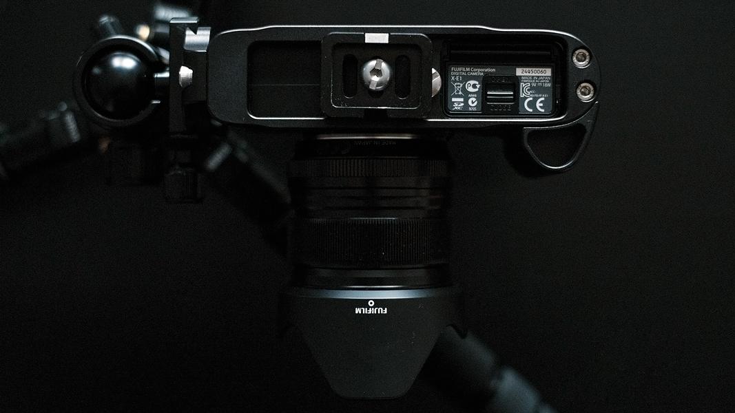Fuji XE 1 mit iSHOOT aud Siruistativ