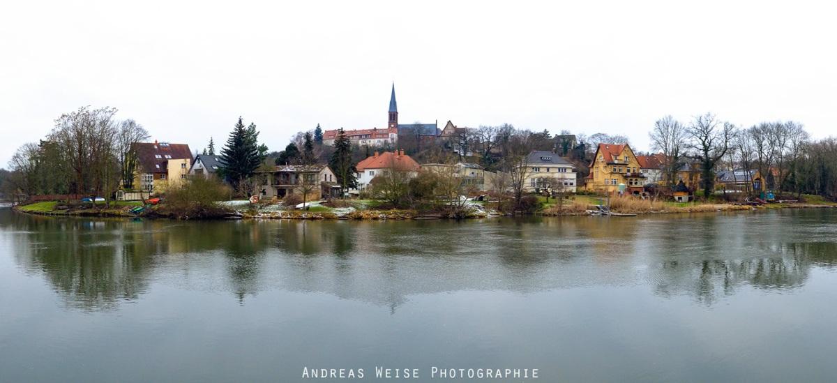 Blick auf Halle-Kröllwitz