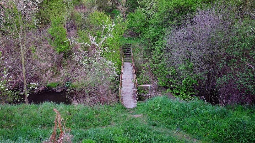 Brücke über die Salza