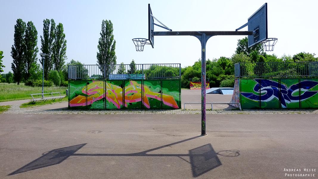 Streetballplatz Halle-Neustadt