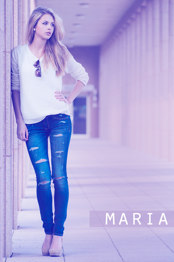 01.06.2014 , Shooting Maria Medack