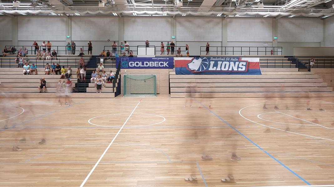 05.07.2014 ,Basketballhalle