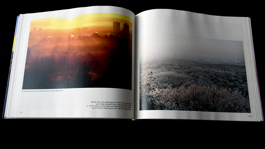 auch ein Foto von mir hat es ins Buch geschaft (links)