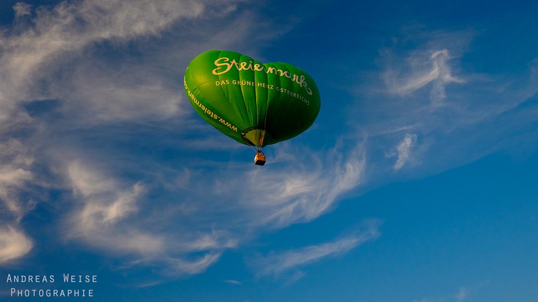 Balloonfiesta Halle 2014 - Ballon Steiermark
