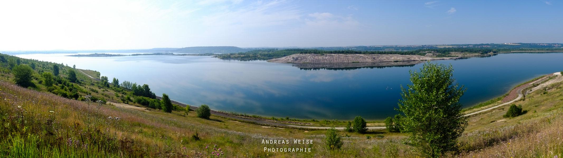 Blick auf den See vom Nordufer