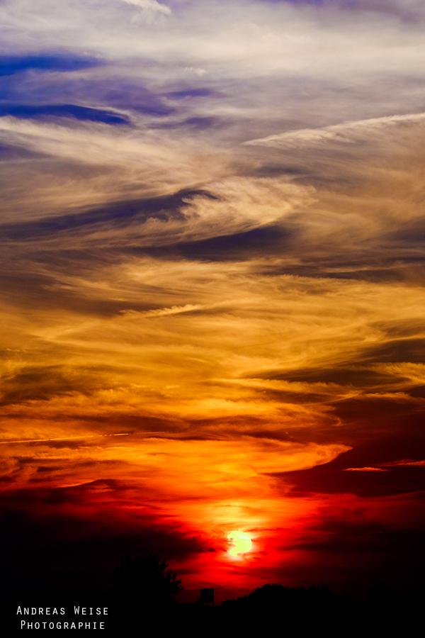 Sonnenuntergang mit autom. Weißabgleich