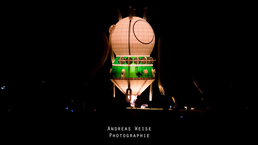 Balloon Fiesta Halle 2014 - Ballonglühen - Andreas Weise