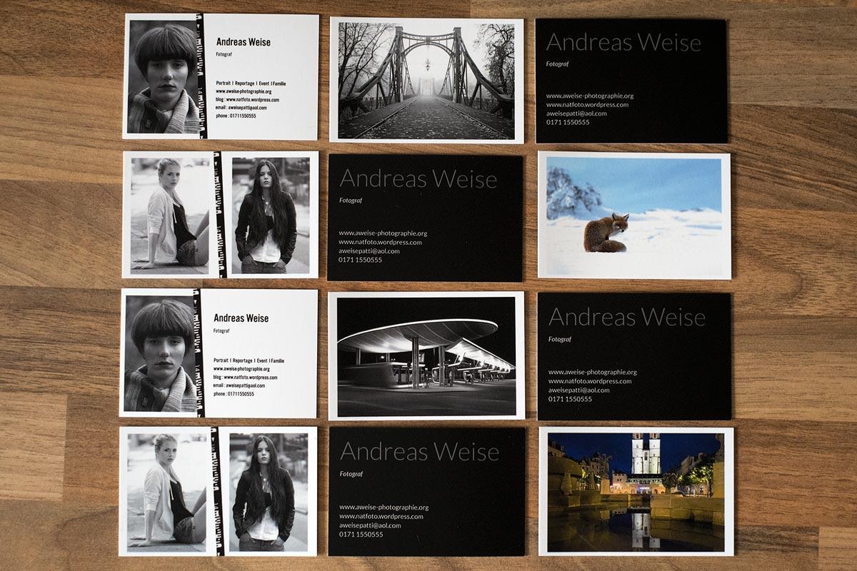 Weise,Fotograf,Halle,Visitenkarten