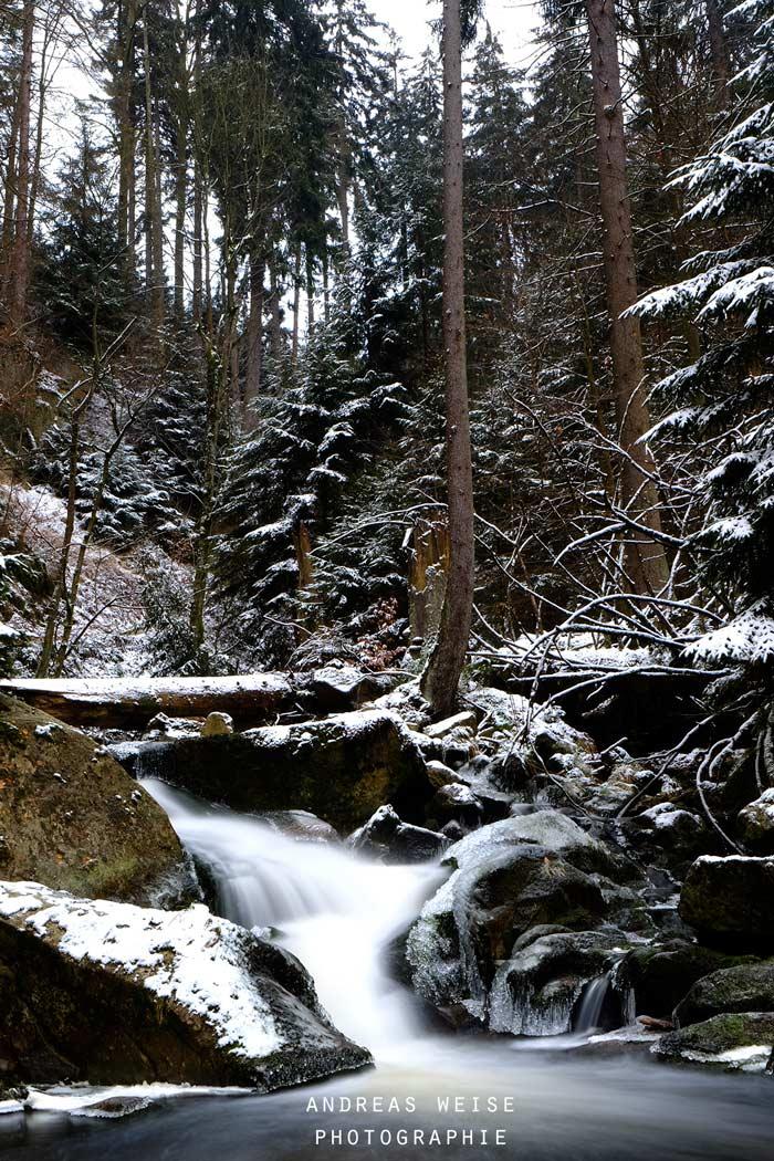 28.12.2014 , winterliche Ilsefaelle