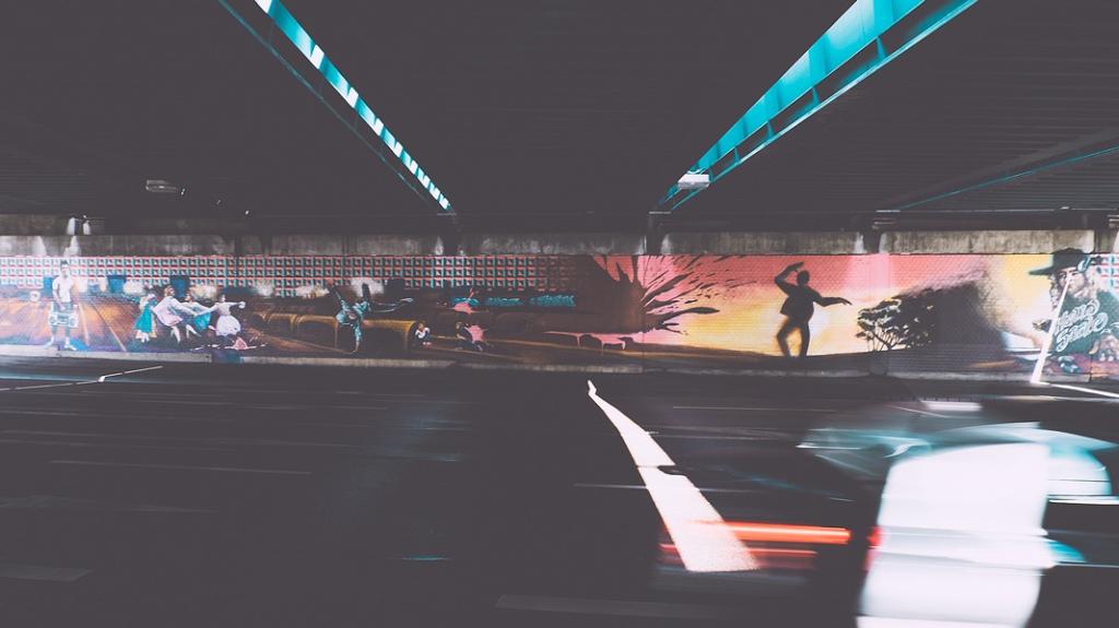 Brücken am Bahnhof