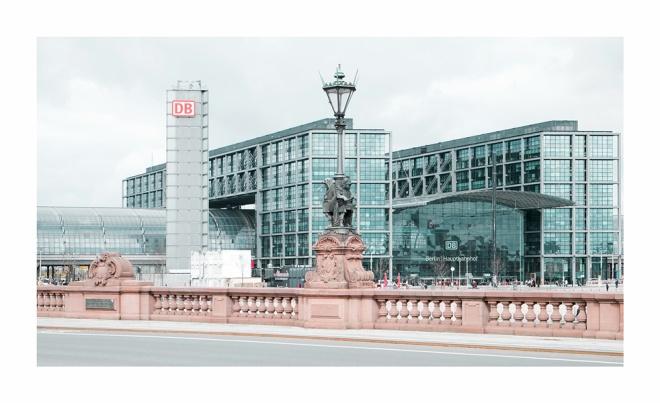 Hauptbahnhof und Moltkebrücke
