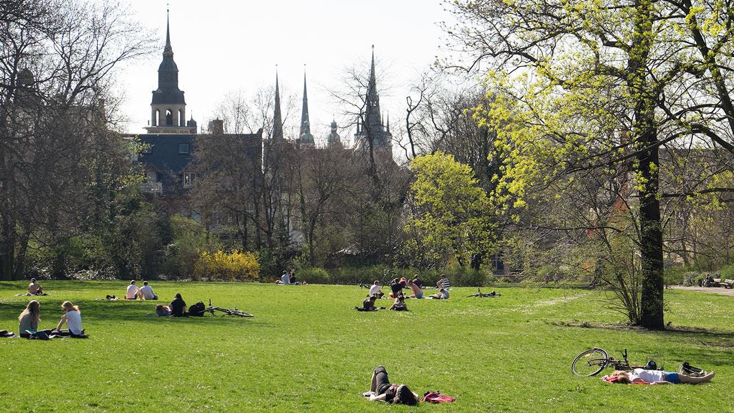 Stadtpark Halle