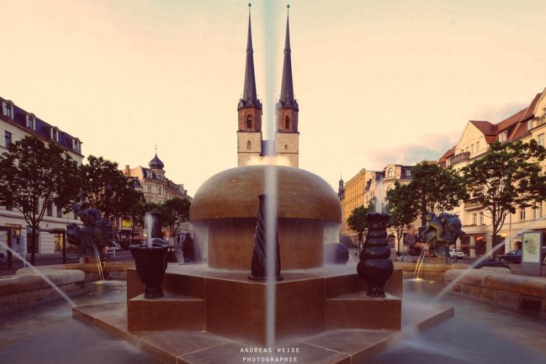 Goebelbrunnen Halle/Saale