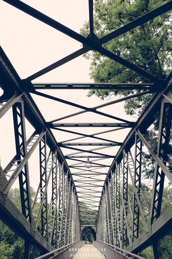 Brücke der Hafenbahn