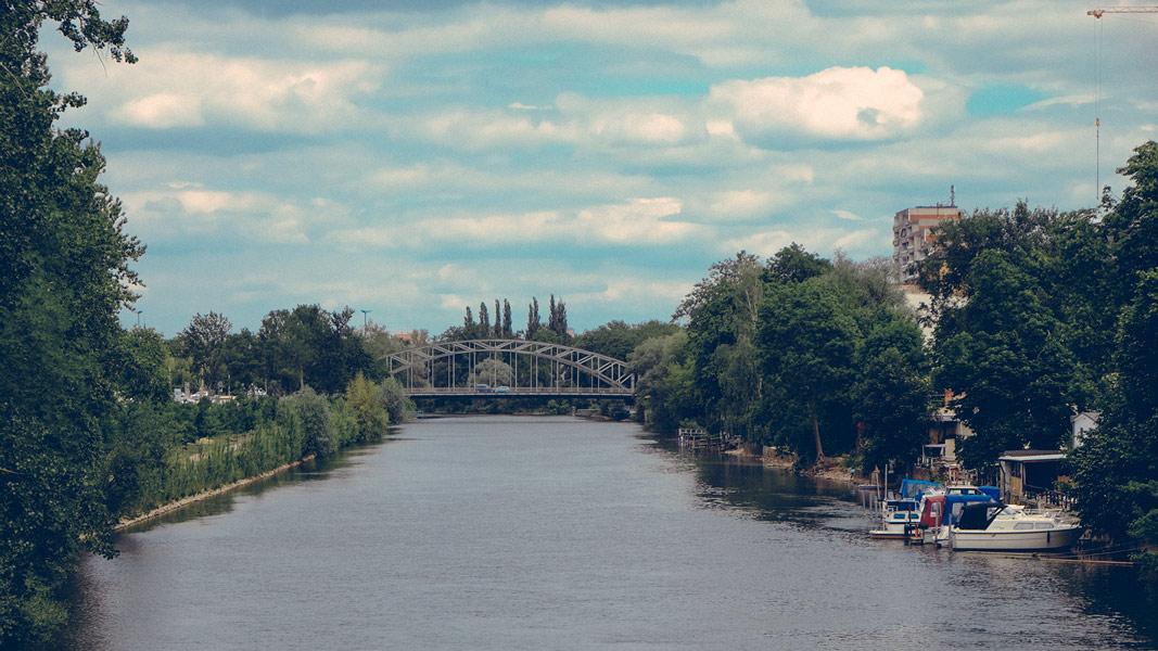 Blick zur Gemsnerbrücke