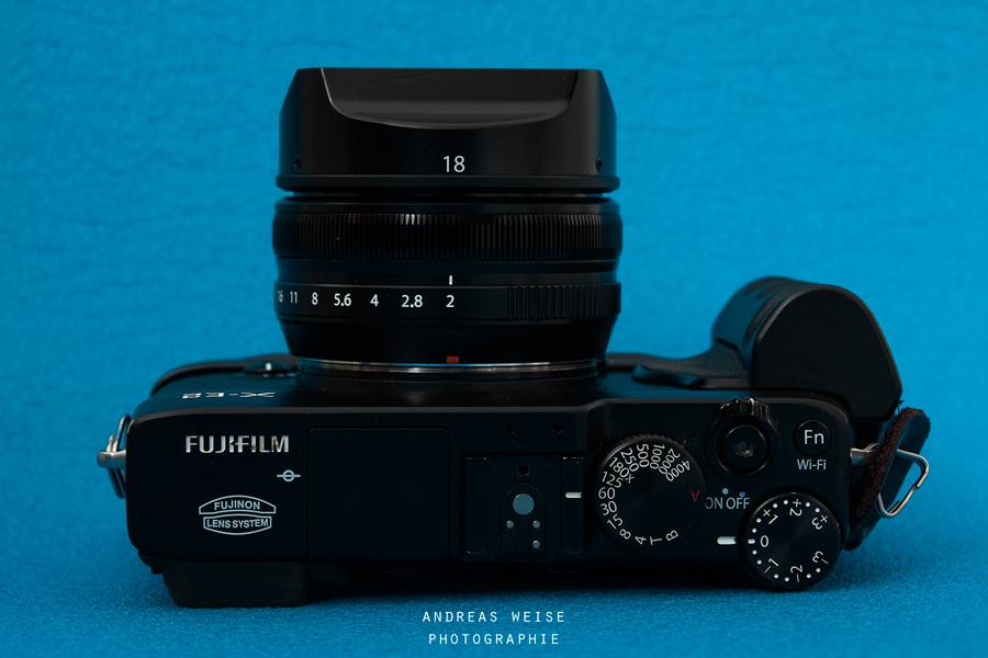 Fuji X-E2 mit Fujinon XF 2/18