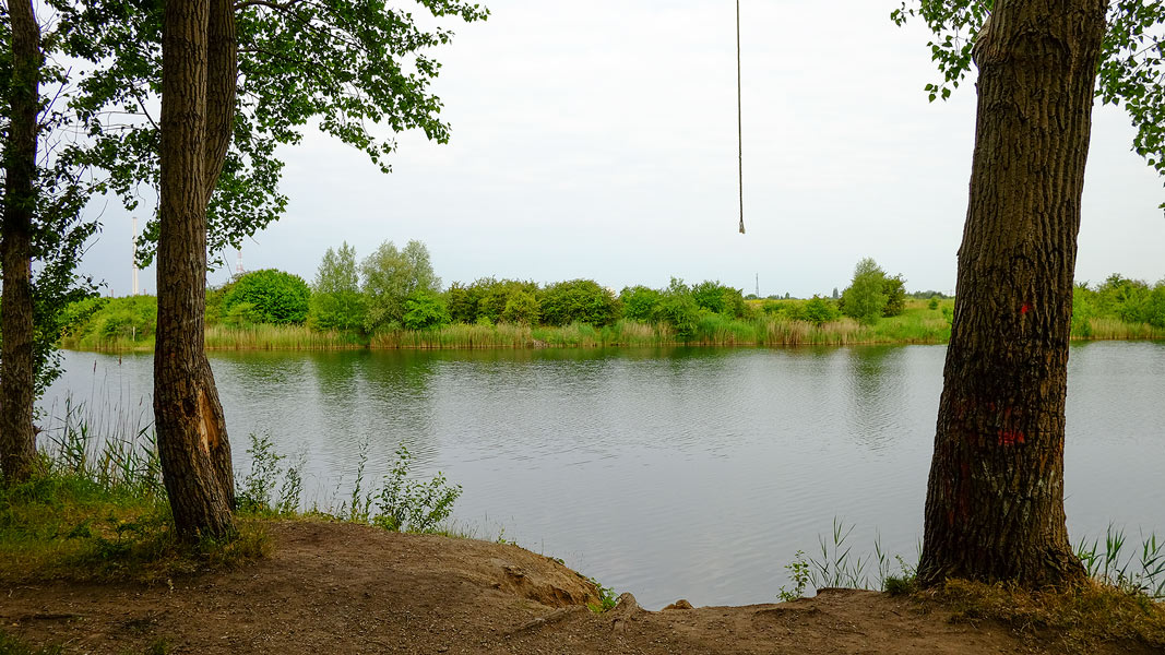 Blick zum Westufer