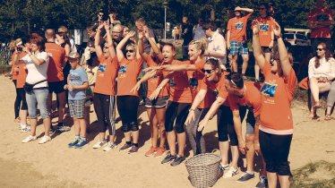 26.07.2015 , Halle/Saale , Rudern gegen Krebs