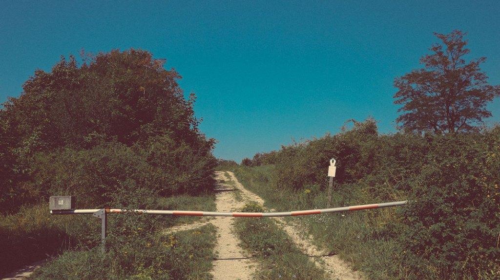 hier begann zu DDR Zeiten der russische Truppenübungsplatz , heute das Naturschutzgebiet