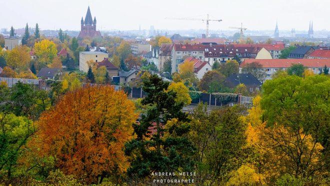 Blick von Kröllwitz über Halle
